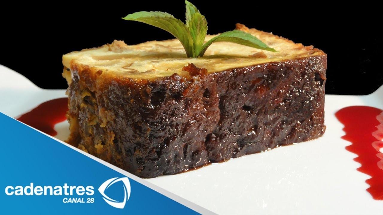 Receta de Pudding de Croissant para enamorados. postres para el 14 de febrero