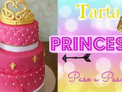 TARTA PRINCESA paso a paso (princess cake)