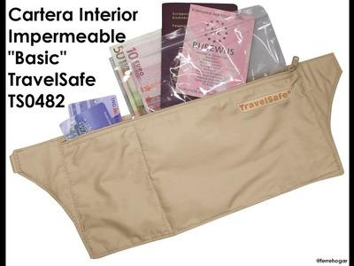 Unisex Riñonera Interior. Seguridad de Viaje para Dinero, Pasaporte, Tarjetas de Crédito.