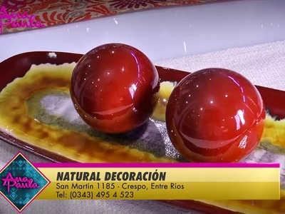 #AnaPaula Ideas para decorar la mesa del comedor NATURAL DECORACIÓN