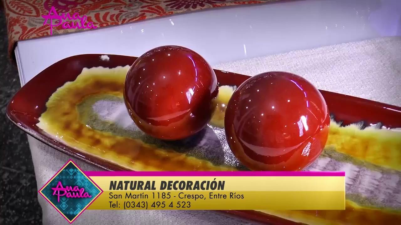 #AnaPaula Ideas para decorar la mesa del comedor NATURAL DECORACIÓN
