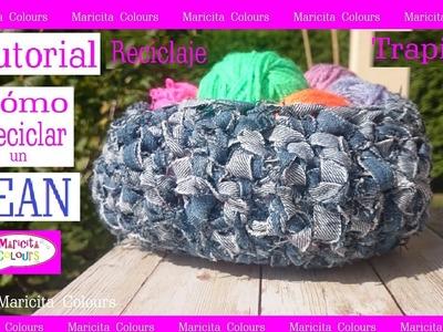 Aprende a RECICLAR un Jean por Maricita Colours