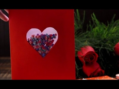 Carta de amor con confetti |@VixDIY