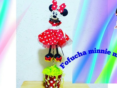 COMO HACER FOFUCHA MINNIE MOUSE