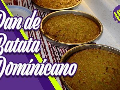 Como hacer Pan de Batata Dominicano - Pudin - Dominican Sweet Potato Bread - #PanDeBatata - HD