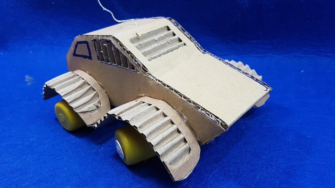 Cómo hacer un coche con cartón