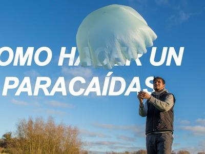 Cómo hacer un paracaídas casero
