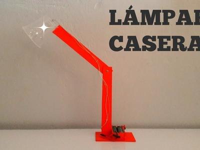 Cómo Hacer Una Lámpara De Escritorio Casera