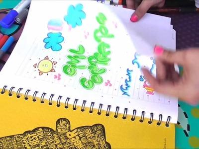 DIY Decora tus cuadernos (3 ideas) fácil