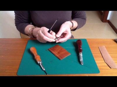 Cómo se utilizan las herramientas para trabajar el cuero: Los desbravadores