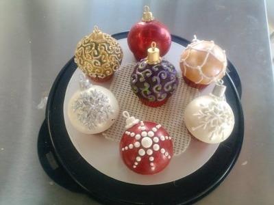 Cupcakes tipo esfera