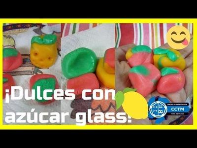 Experimento ¡Comestible!: Masa para dulces de azúcar glass (Sólo 3 ingredientes)