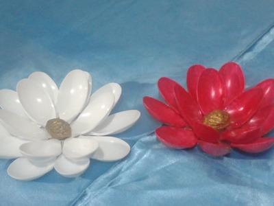 Flores en cucharas de pasta | Marlin Fly