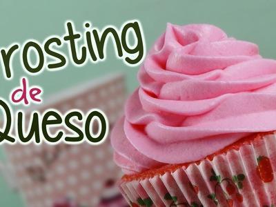 Frosting de queso para cupcakes o tartas