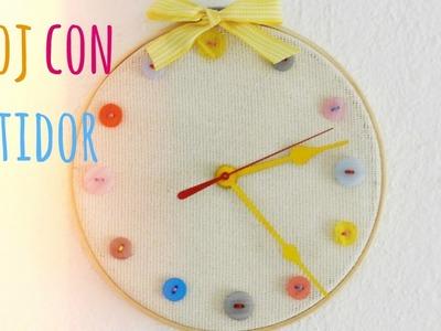 Haz un reloj con botones ❤ - BrightBrenda