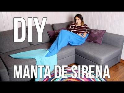 Manta cola de sirena - DIY súper fácil