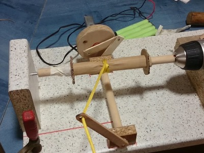 Máquina para ovillos de cuerda