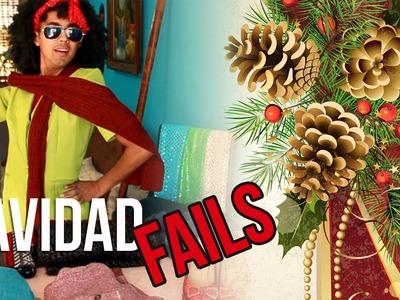 Navidad FAILS | Cosas que pasan en la EPOCA NAVIDEÑA