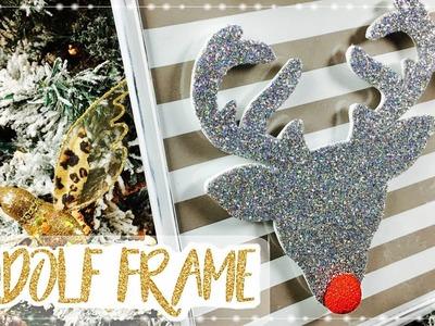 Reno Rudolf | Decoración Navideña | MOLDES GRATIS | Rudolf Frame | Christmas Decoration
