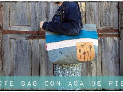 Tutorial como coser una Tote Bag DIY de forma fácil