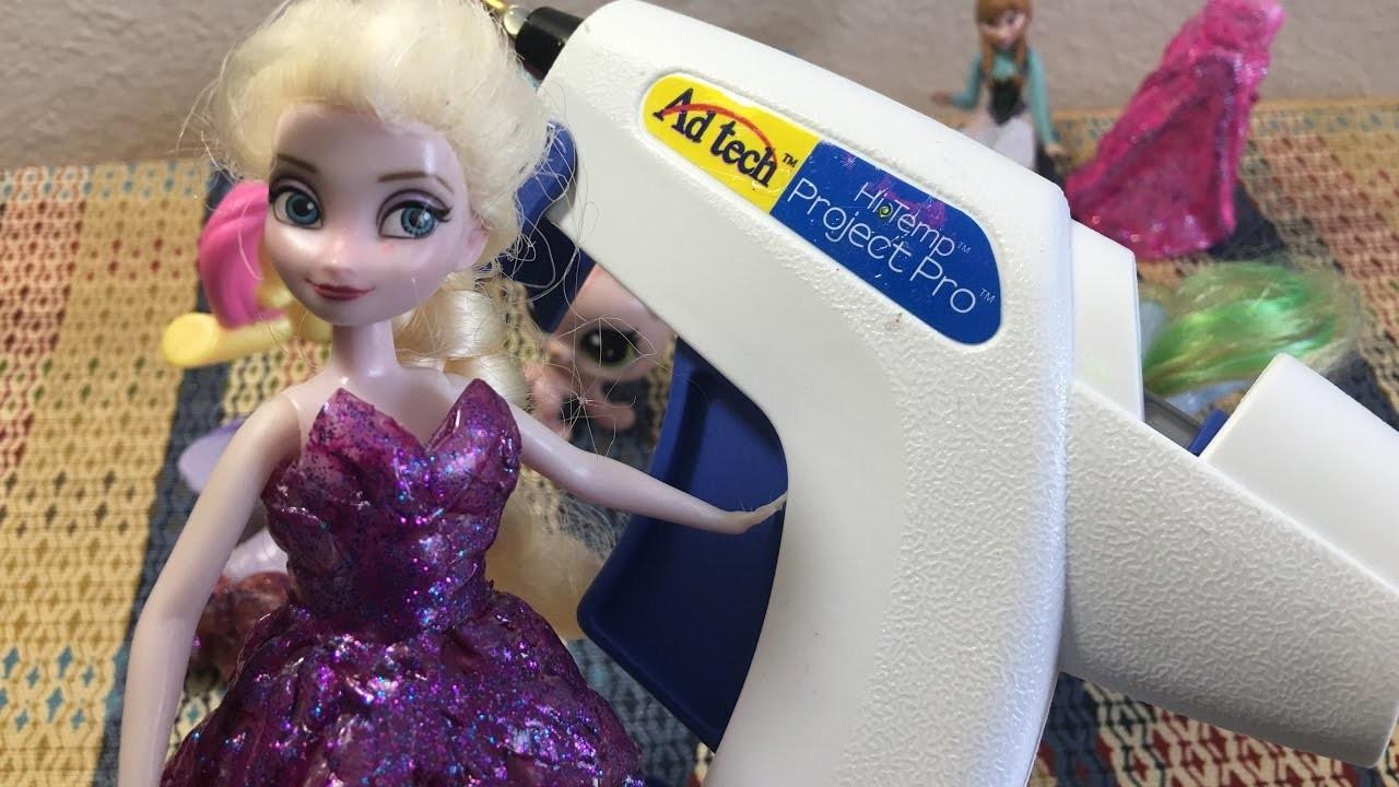 Vestidos para barbie con silicon caliente. LPS y Little pony