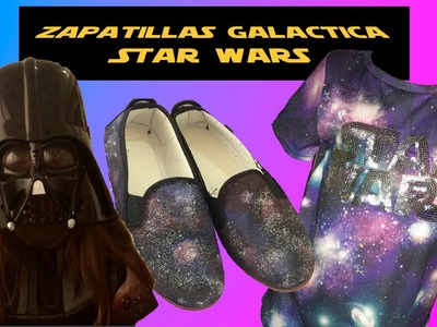 ZAPATILLAS GALACTICAS. GALAXY VANS.STAR WARS