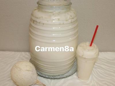 Agua Fresca de Horchata con Coco  para Negocio