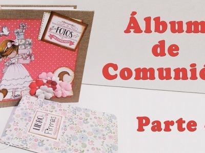 Álbum de Comunión (encuadernación de espina)parte 2