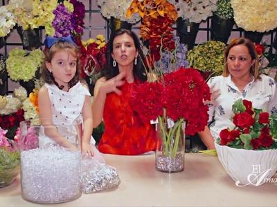 Arreglos florales para mesas de centro