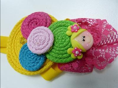 Bandita Elásticas  Multicolor para Bebes, Como hacer Accesorios Bebes