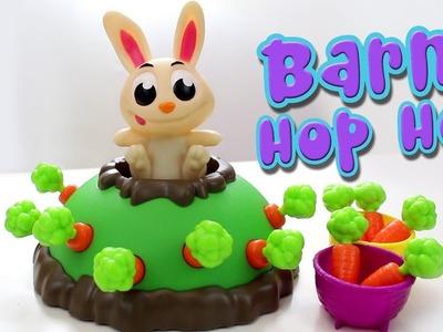 Barni Hop Hop! Juego de mesa con conejito de juguete. SUPERDiverilandia.