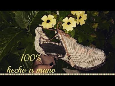 BOTIN MODELO FELIDIA TEJIDO EN CROCHET