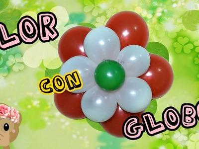 Como hacer flores con globos paso a paso para fiesta o cumpleaños | MaquiTips ????