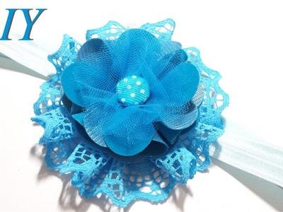Como Hacer Lazos ???? DIY #117 Bandana Floral  Tutorial