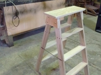 Como hacer una Escalera - . Escalera de madera Leccion Nº 26
