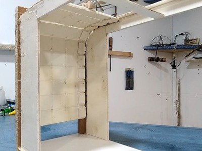 Como se hace una puerta de cochera en escala
