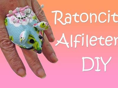 DIY Anillos Alfileteros en forma de Ratoncitos