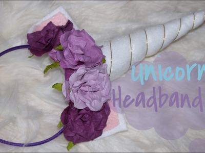 DIY Diadema de Unicornio|DIY Unicorn Heandband|IvonneDiazMakeup
