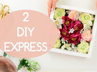 DIY Marco floral y Marco joyero | Ikea hack | Regalo día de la madre | Enbotedebote