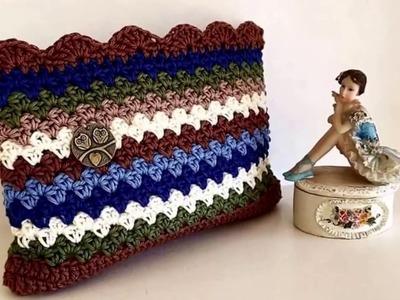 Estuche Tejido a Crochet Ganchillo
