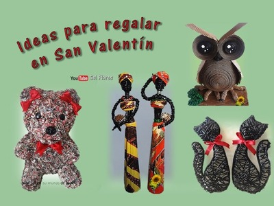 Ideas para regalar en San Valentín – Valentine gift ideas