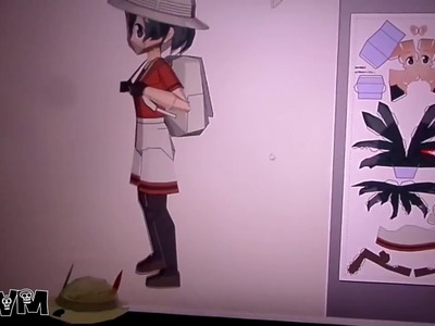 Kaban Papercraft - [Kemono Friends]