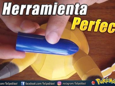 La Herramienta PERFECTA para doblar piezas en Papercraft ★ Tutorial #16