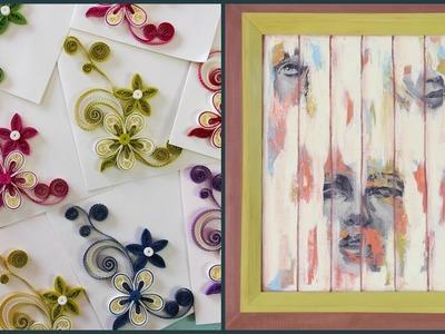 ManosalaObraTv Programa 46 - Transferencia de Imagenes - Chalk Paint - Tarjetas - Quilling