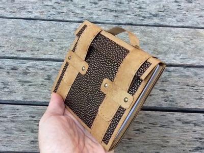 Mini album en forma de maletín para el día del padre-MYBA