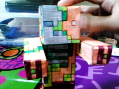 Ocelote papercraft parte 2