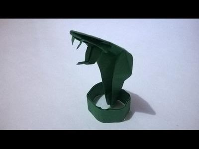 ORIGAMI - SERPIENTE DE PAPEL - origami snake