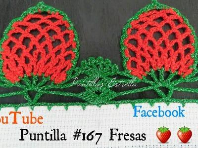 Puntilla #167 Fresas ????????