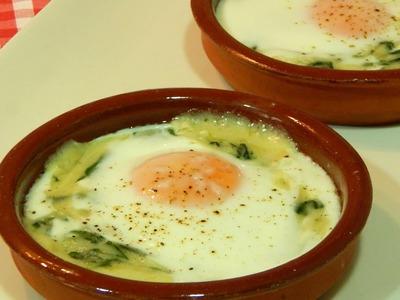 Receta fácil de huevos a la Florentina