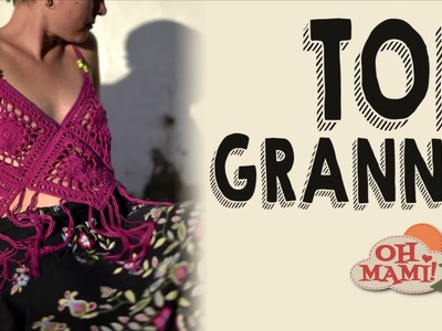 Top Granny a crochet